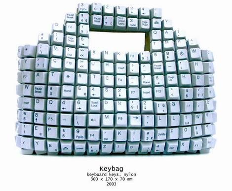 键盘提包和其他Jo创意设计