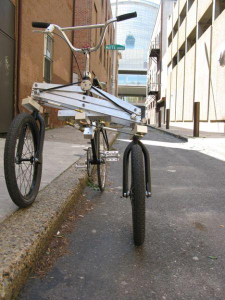 极酷的三轮车创意设计