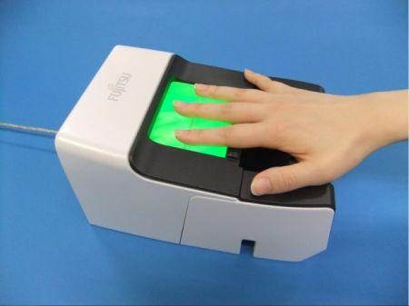 富士通新型身份识别系统创意设计