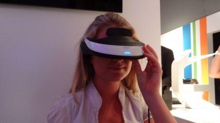 头戴式3D播放器创意设计