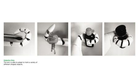 多节仿真假肢创意设计
