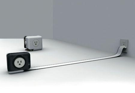 卷尺式接线器创意设计