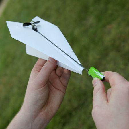 纸飞机推进器创意设计