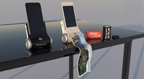 便携Iphone和Ipad打印机创意,Printeroid创意设计