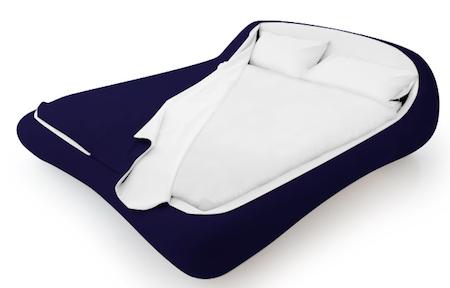 方便的拉链床铺创意设计
