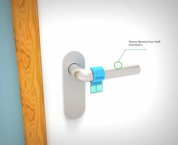 迷你门把手消毒滑块创意小发明
