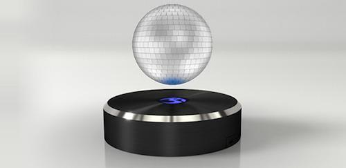 全球首款磁悬浮蓝牙音箱创意设计