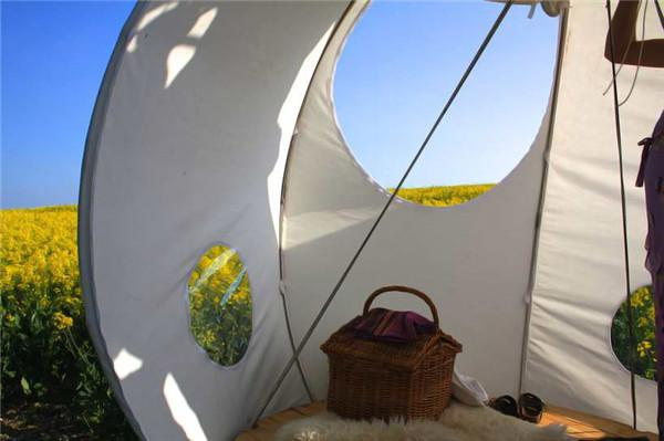 球形悬挂式帐篷创意设计