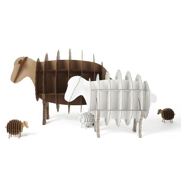 环保、结实、方便的硬纸板家具创意设计