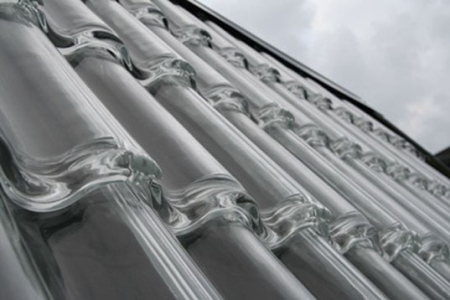 高效玻璃瓦热水系统创意设计