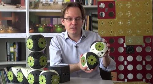 模块化机器人打造的智能家具创意设计