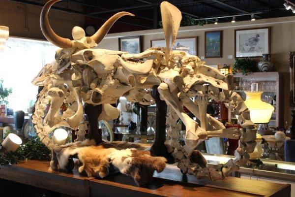 动物骨头制作的摩托车创意设计