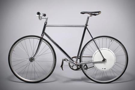 智能自行车电动后轮创意设计