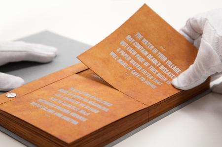滤水书创意设计