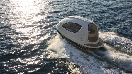 精致胶囊小游艇创意设计