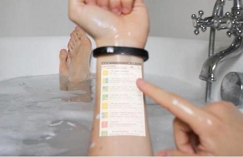 Cicret智能投影手环创意设计