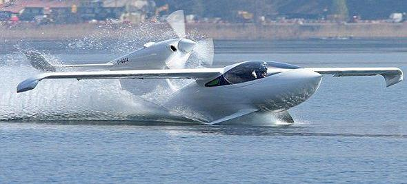 AKOYA水陆空三栖飞机只卖25万创意设计