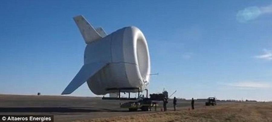 美制造未来浮空式风电:造型酷似UFO创意设计