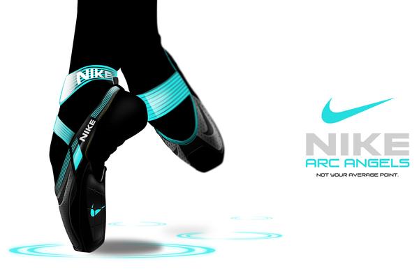 nike创新足尖舞蹈鞋创意设计
