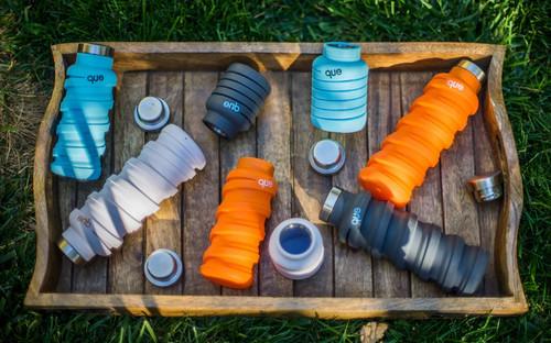 可伸缩折叠的环保水瓶que创意,Bottle创意设计