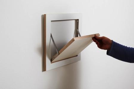 翻折置物架创意设计
