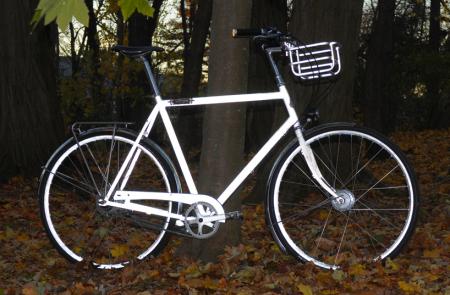 荧光单车创意设计
