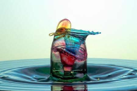 美妙的水花世界创意设计