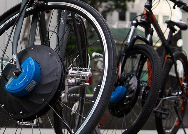 UrbanX可以将自行车变成电动车的车轮创意设计