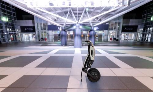 城市折叠电动车INU创意设计