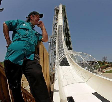 全球最高的水上滑梯创意设计