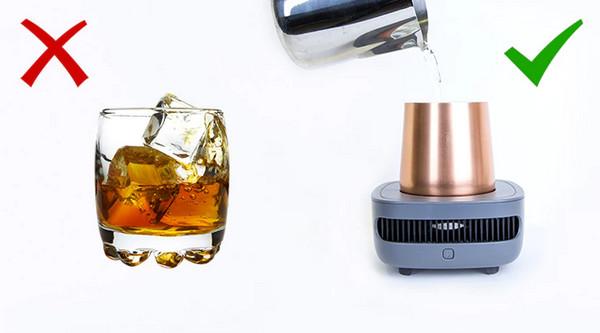 冷冻杯创意设计创意,夏日饮料必备速冻神器