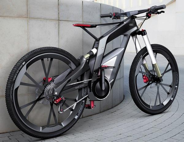 奥迪碳纤维自行车创意设计