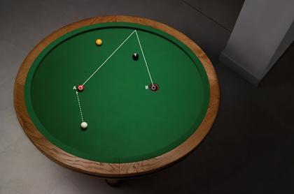 圆形台球桌创意设计