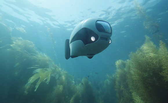 BIKI水中拍摄机器鱼创意,外形超可爱
