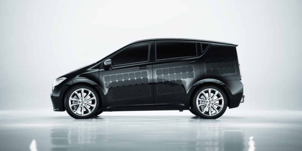 Sion电动车创意,车顶车身覆盖太阳能面板