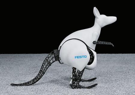 仿真机械袋鼠创意设计