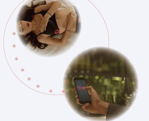 智能胸罩Cueme创意,可远程操控震动模式