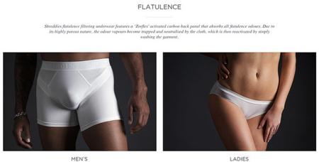 可过滤臭味的防臭内裤创意设计
