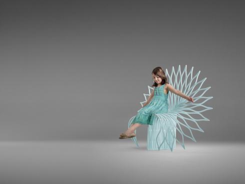 霸气孔雀椅创意设计