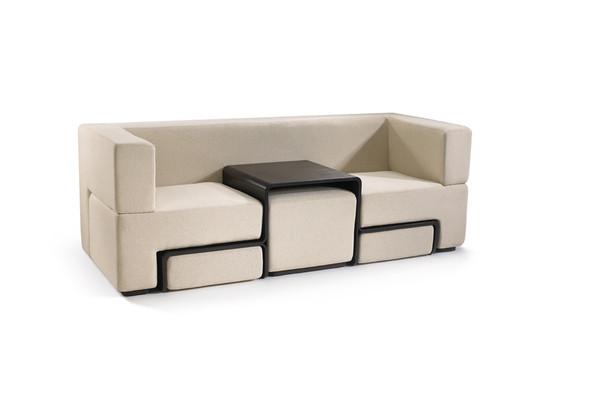 百变组合沙发创意设计
