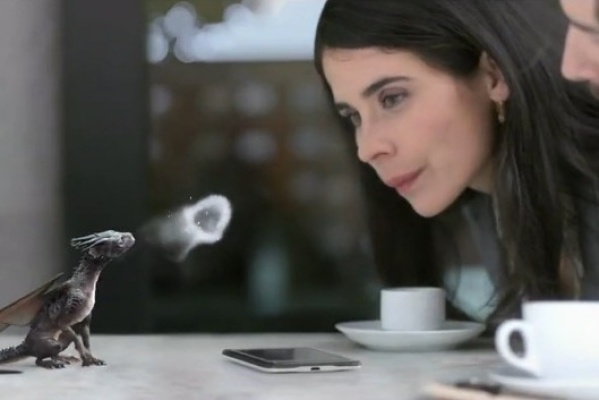 高通处理器芯片科幻广告创意设计《Dragon is Coming》