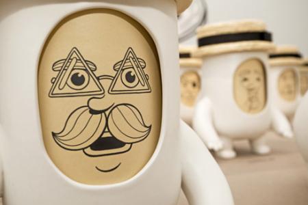 创意变脸杯创意设计