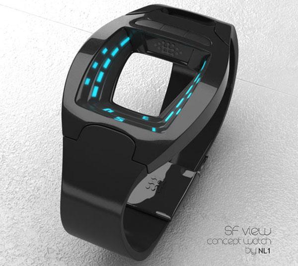 SF概念科幻手表创意设计