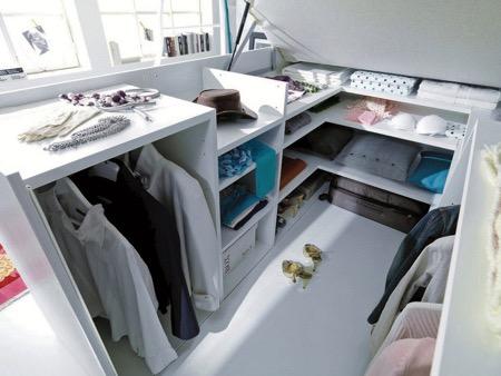 衣柜与床的结合创意设计