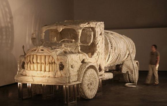 """拉风""""骨头""""卡车创意设计"""