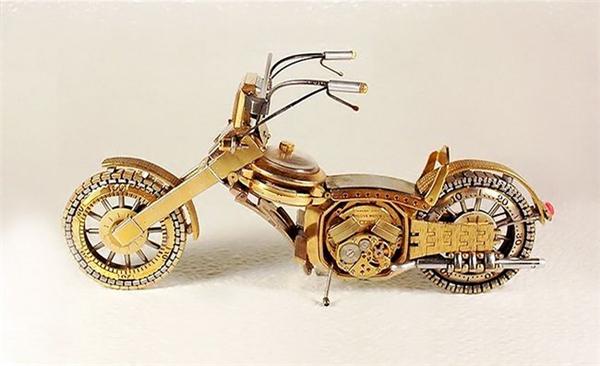 创意手表再生摩托车创意设计