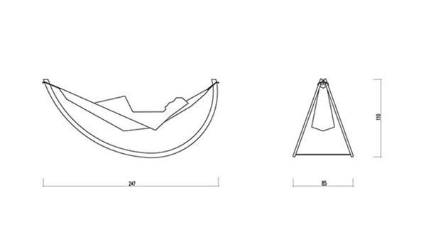 舒适的摇椅吊床创意设计