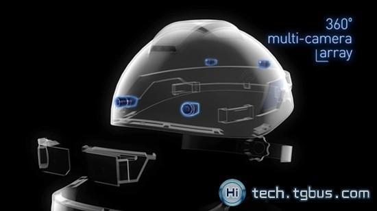 工业用增强现实安全帽创意,Smart Helmet
