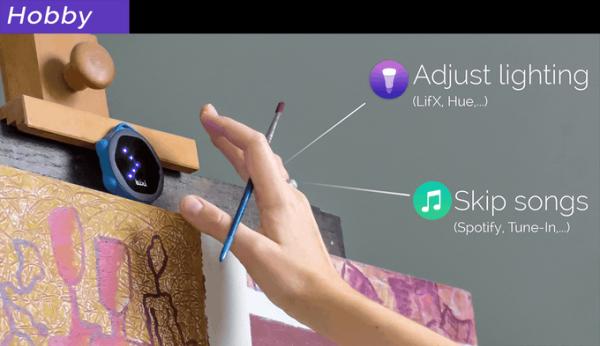 Bixi手势遥控器创意,可凌空操控电子设备创意设计