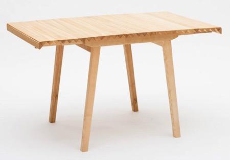 卷帘式餐桌创意设计